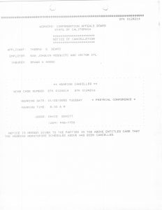 01-22-02 Tom Beard WCAB Notice of Cancelation Braggs & Associate_Page_1