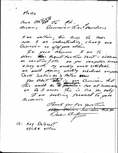 02-18-99_D.-Bridgewater-21898_Handwritten-Draft-Memo-to-Luchessi_TimeOffPrcedures