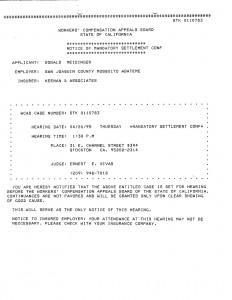 04-20-95 Meidinger Mandatory Settlement Conference_