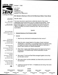 10-01-99_Gary-Langston-SEIU-Letter-to-Stroh-re-Blanning-Baker-Study_Page_1