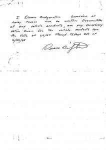12-22-98_Duane-Bridgewater-DB-Notes-no-documentation-on-Larry-Fraser-Accident