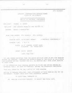 12-31-01 Pre Trial Tom Beard Bovett