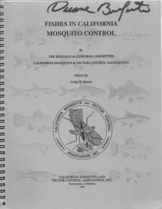 17_Fishes In California Mosquito Control