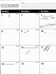 1998-02-01_Duane-Bridgewater-Personal-Calendar-wHandwritten-Notes.pdf_Page_1
