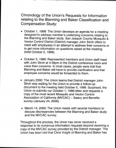 2000-03-14_Gary-Langston-SEIU-Chronology-of-Requests-for-Information_Page_01
