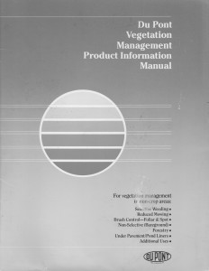 24_Du Pont Vegetation Management Product Information Manual