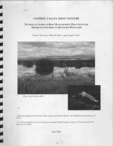 25_Technical Guide to Best Management Practices for Mosquito Control in Managed Wetlands