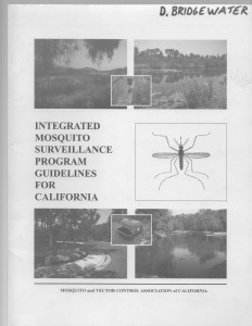 7_Integrated Mosquito Surveillance Program Guidelines for California