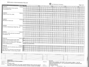 01-03-12 Shirley Johnson Arbor Rehab Dr Freund bed 55 Omnicare list of medications 2