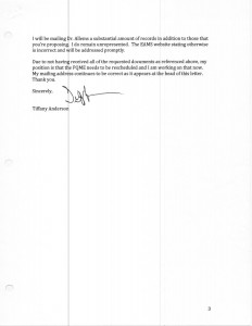 01-08-14_Letter to Stockwell Harris RE QME03