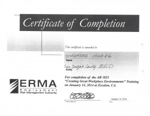 01-14-14 ERMA Creating Great Workplace Environments Harassment, Discrimination and Retaliation Prevention _Page_02