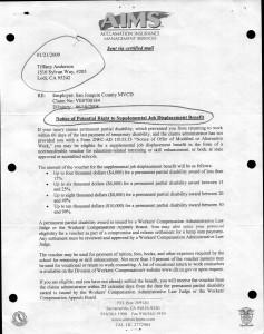 01-21-09_AIMS Job Displacement Benefits