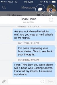 01-23-12 Tiffany Anderson to Brian Heine made to fire me by the evil ones
