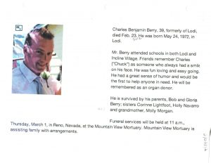 02-23-12 Death of Cousin Charley Berry