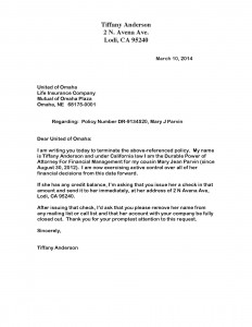 03-10-14 Close Account Mary Jean Letter Omaha DR-91345201