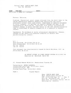 06-07-12 MaryJean Admited to Delta Rehab from LMH 5_11_12 5_22_12 MRSA Memeory loss. Delerium 4