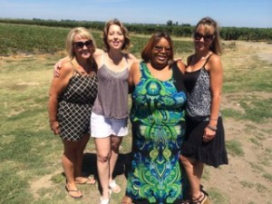 06-22-14 Loretta, Mel, me and Dana2