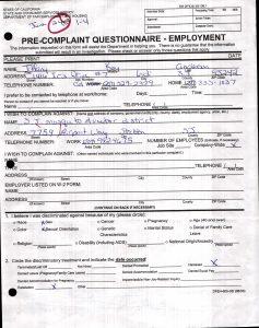 06-24-08 DFEH-Pre-Complaint-Questionnaire_Page_1