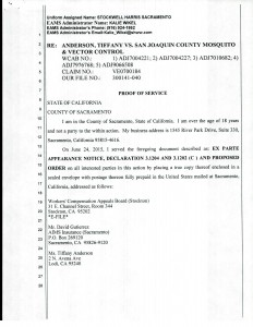 06-24-15 Notice of EX Parte Re Allems14