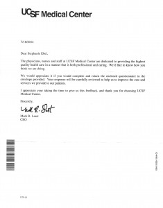 07-18-14_Stephanie Ebel Letter From UCSF Medical Center
