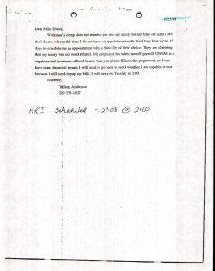 07-28-08_ta-email-dr-aims-denied-claim