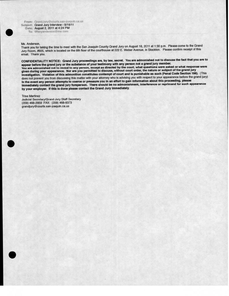 08-02-11 Trisa Martinez Grand Jury Email