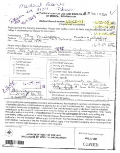 08-10-09-Dameron-Authorization-For-Use-And-Disclosure