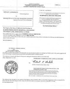 09-21-11 Subpoena Kaiser Stockton Eric Helphrey