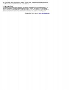 09-26-07 WETLANDSCalifornia Projects Receive $3 Million North A02