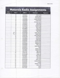 10-05-09_New Motorola Radio Assignments