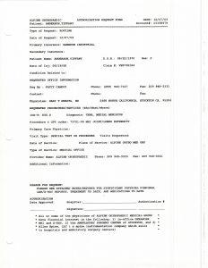 10-07-09 Alpine Ortho Fax to AIMS Mackenzie Dawson