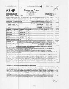 10-31-06 ASHP Response Form