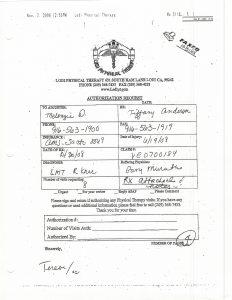 11-07-08 Lodi PT Fax to AIMS Mackenzie Dawson