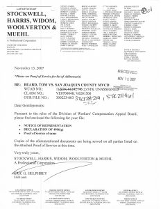 11-13-07 Stockwell Helphrey Notice of Representation Tom Beard_Page_1