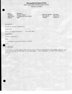 6-21-04-Dameron-Hospital-Occutional-Injury-Clinic-Final-Visit-p01