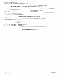 7-25-11 Sick Leave Form and Kaiser Documents for excusing my absence_Page_2