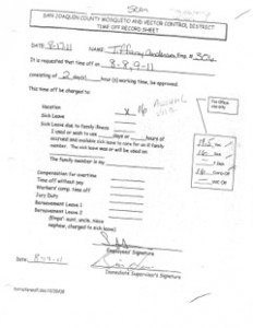 8-17-11 Sick Leave Evidence Fraud1