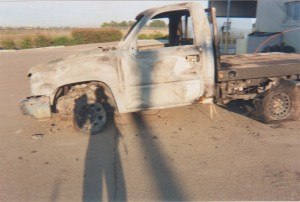 Burned Out Truck Picture #2