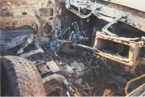 Burned Out Truck Picture #3