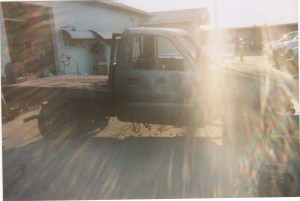 Burned Out Truck Picture #4