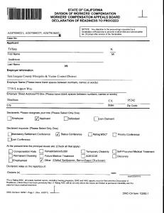 01-04-16 Tiffany WCAB Filing for Status Hearing1