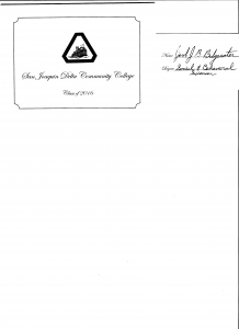 05-2616 Jake Bridgewater Delta College Graduation I couldnt do it 1
