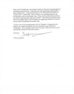 07-01-16 Letter to QME Pg 2