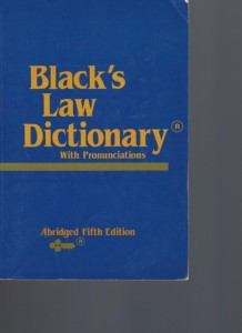 Black's Law Dictionary With Pronunciations 2