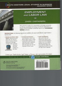 EMPLOYMENT and LABOR LAW 1