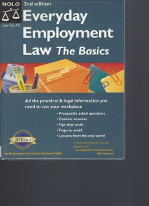 Everyday Employment Law The Basics
