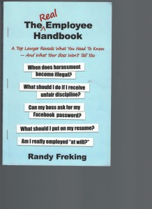 THE REAL EMPLOYEE HANDBOOK