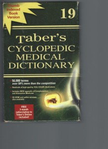 Taber's Cyclopedic Medical Dictionary_Page_1