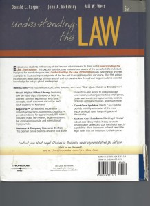 Understanding the Law 1