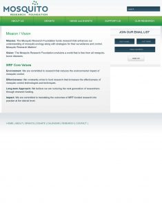 07-01-12 MRF Website - Mission and Vision